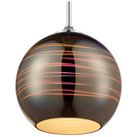 Rogue Decor Company 610250 Spacey 1 Light 10 inch Polished Chrome Pendant Ceiling Light