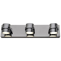 Rogue Decor Company 610820 Twocan LED 20 inch Polished Chrome Bath Vanity Wall Light