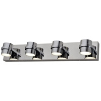 Twocan LED 26 inch Polished Chrome Bath Vanity Wall Light