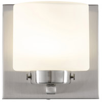 Rogue Decor Company 611000 Clean LED 5 inch Satin Nickel Vanity Wall Light