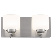 Clean LED 11 inch Satin Nickel Vanity Wall Light
