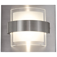 Rogue Decor Company 611160 Restraint LED 6 inch Polished Chrome Vanity Wall Light