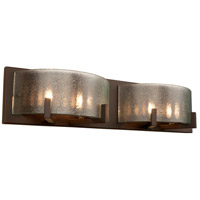 Rogue Decor Company 611220 Firefly 4 Light 22 inch Industrial Bronze Bath Vanity Wall Light