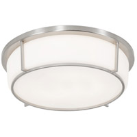 Smart LED 13 inch Satin Nickel Flush Mount Ceiling Light