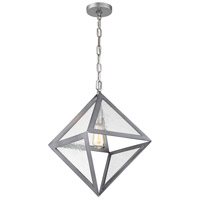 Rogue Decor Company 612100 Overrule 1 Light 13 inch Brushed Silver Coffee Bronze Pendant Ceiling Light