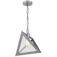 Rogue Decor Company 612110 Overrule 1 Light 13 inch Brushed Silver Coffee Bronze Pendant Ceiling Light