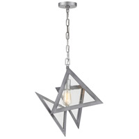 Overrule 1 Light 10 inch Brushed Silver Coffee Bronze Pendant Ceiling Light