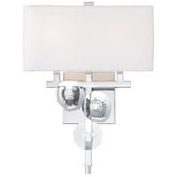 Rogue Decor Company 612290 Engeared 2 Light 12 inch Chrome Wall Sconce Wall Light photo thumbnail
