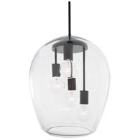 Rogue Decor Company 613010 Vino 4 Light 14 inch Black Foyer Pendant Ceiling Light