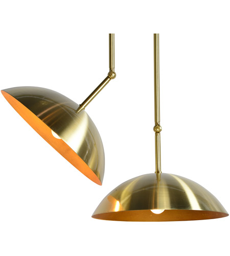 Renwil LPC4106 Weald 2 Light 20 inch Gold Pendant Ceiling Light LPC4106_detail.jpg