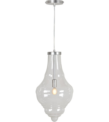 Renwil Lpc4263 Antolina 1 Light 11 Inch Clear Glass Pendant Ceiling Light Small