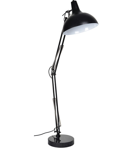 Renwil Black Iron Floor Lamps