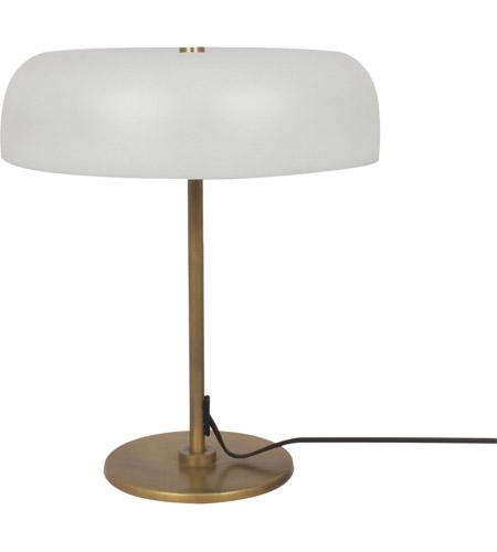 Renwil LPT1018 Murville 17 Inch 25 Watt Antique Brass Table Lamp Portable  Light, Small Photo