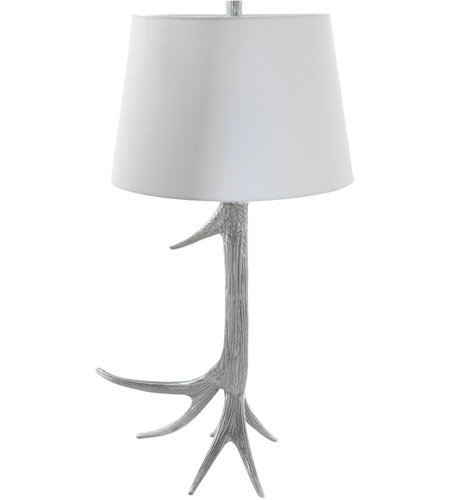 Renwil LPT599 White fallow 30 inch 60 watt Polished Table Lamp Portable Light