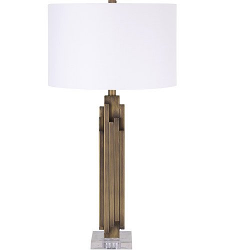 Renwil Antique Brass Table Lamps