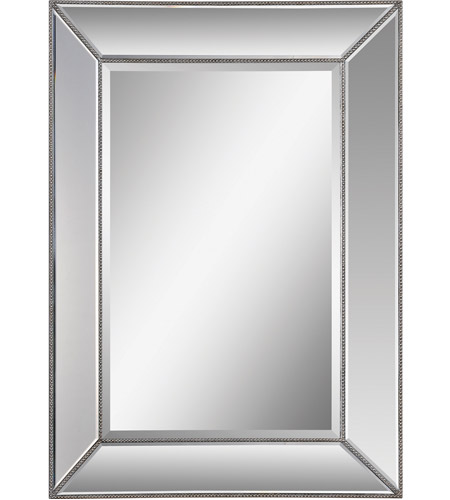 Renwil MT1121 Whitney 46 X 34 inch Silver Leaf Wall Mirror