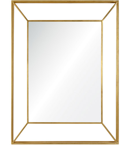 Renwil MT1676 Wilton 40 X 30 inch Gold Wall Mirror