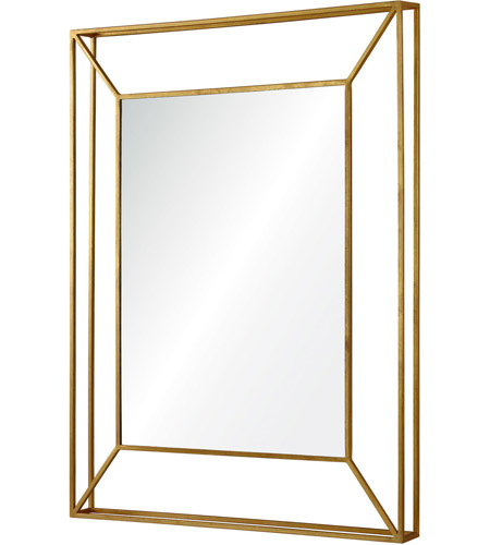 Renwil MT1676 Wilton 40 X 30 inch Gold Wall Mirror MT1676_angle.jpg