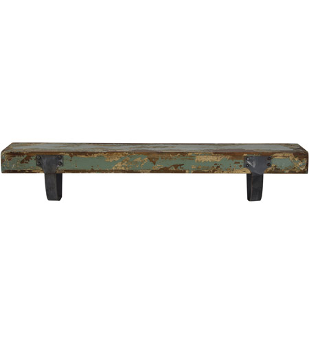 Renwil She004 Carien 32 Inch Painting And Powder Coated Wall Shelf