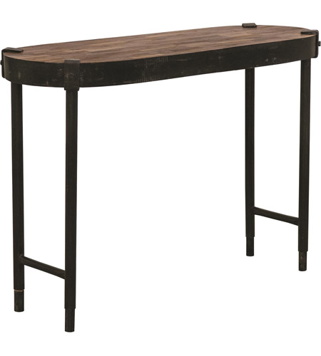Renwil TA098 Seewald 41 Inch Rusted Metal And Weathered Wood Console Table  Photo