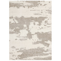 Alberto White and Beige Rug