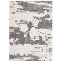 Alberto 86 X 62 inch White and Grey Indoor Area Rug
