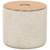 Tenor Natural and Copper Candle Holder