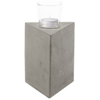 Element II Grey Candle Holder
