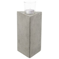 Element III Grey Candle Holder
