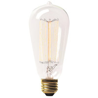 Renwil LB001-3 Lb001 Retro Incandescent Type B E26 60 watt Light Bulb Small Pack of 3