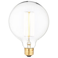 Renwil LB005-3 Arc Incandescent Type A E26 40 watt Light Bulb Small Pack of 3