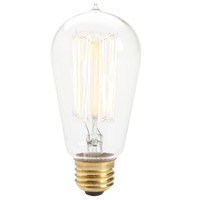Renwil LB006-3 Edison Incandescent Type A E26 60 watt Light Bulb Small Pack of 3