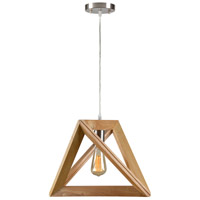Apex 1 Light 17 inch Natural Pendant Ceiling Light