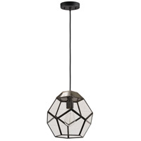 Pherix 1 Light 10 inch Antique Zinc Pendant Ceiling Light