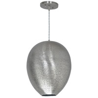 Alpuza 1 Light 11 inch Pewter Pendant Ceiling Light