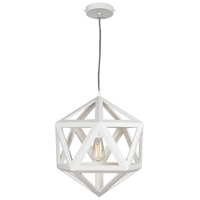 Hopewell 1 Light 17 inch White Pendant Ceiling Light