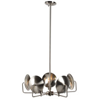 Reflector 5 Light 27 inch Satin Nickel Pendant Ceiling Light