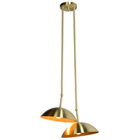 Renwil LPC4106 Weald 2 Light 20 inch Gold Pendant Ceiling Light LPC4106_angle.jpg thumb