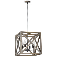 Crate 4 Light 16 inch Pendant Ceiling Light