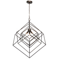 Renwil LPC4197 Andrano 3 Light 30 inch Dark Antique Silver Pendant Ceiling Light Large