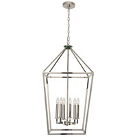 Renwil LPC4205 Merrygold 6 Light 19 inch Polished Nickel Foyer Pendant Ceiling Light Medium