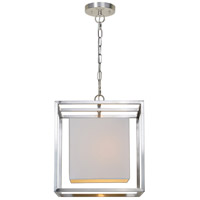 Renwil LPC4231 Eastleigh 1 Light 16 inch Brushed Nickel Pendant Ceiling Light Small