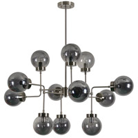 Renwil LPC4248 Domenico 12 Light 40 inch Brushed Nickel Chandelier Ceiling Light Large