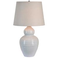 Renwil LPT793 Latchmore 32 inch 100 watt Gray Table Lamp Portable Light Medium