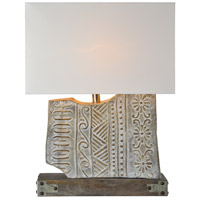 Renwil LPT810 Barclay 25 inch 60 watt Stonelook Embossed Table Lamp Portable Light