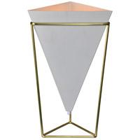 Renwil LPT864 Hester 22 inch 60 watt Satin Brass Table Lamp Portable Light Small