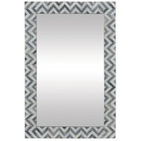 Abscissa 36 X 24 inch Grey and Ivory Wall Mirror