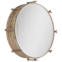 Wosley 19 X 19 inch Weathered Wall Mirror