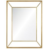 Wilton 40 X 30 inch Gold Wall Mirror