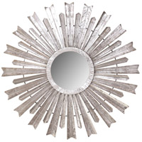 Wolfe 34 X 34 inch Silver Foil Mirror Home Decor